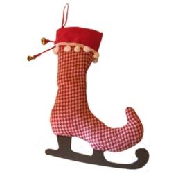 Kerst Laars met schaats