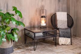 Lantaarn Zwart Metaal Londen Homesociety