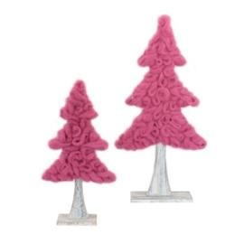 Kerstboom van wol