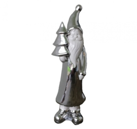 Kerstman zilver