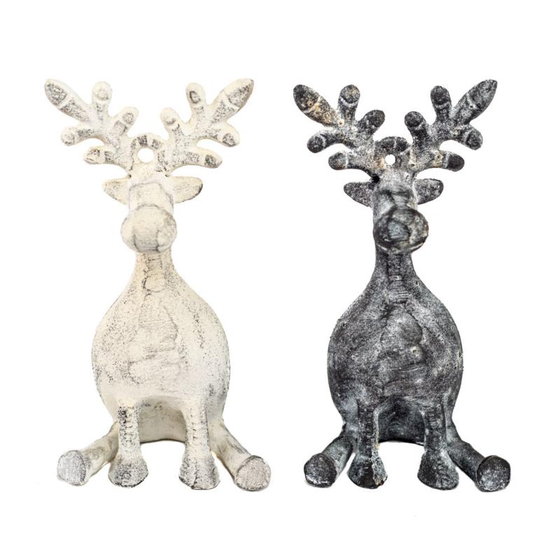 Decoratie Rendier Ornament Ferro Homesociety
