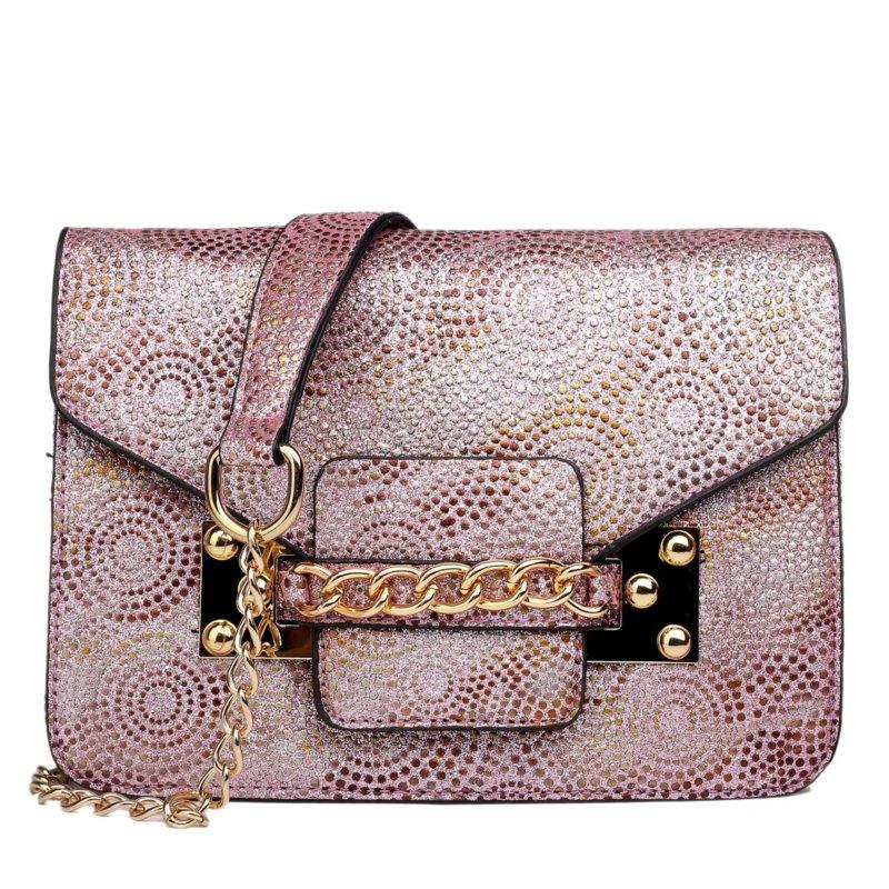 Miss Lulu Cross Body Bag Pink