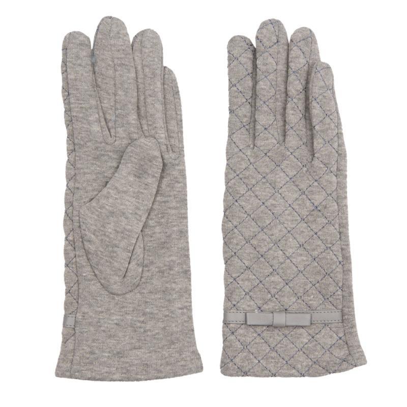 Juleeze Handschoenen Stitched Grijs
