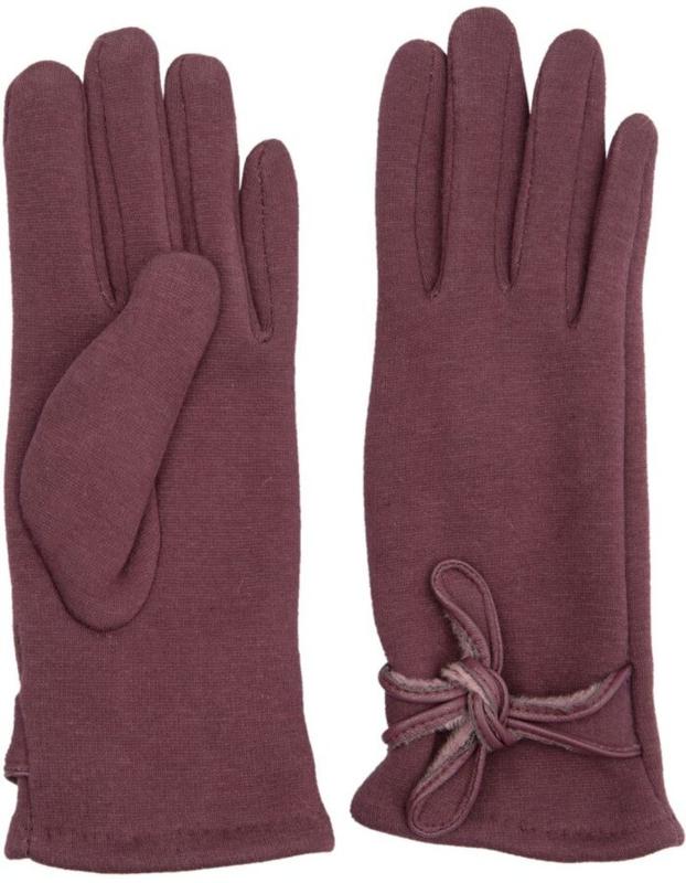 Juleeze Handschoenen Trendy Bow Taupe