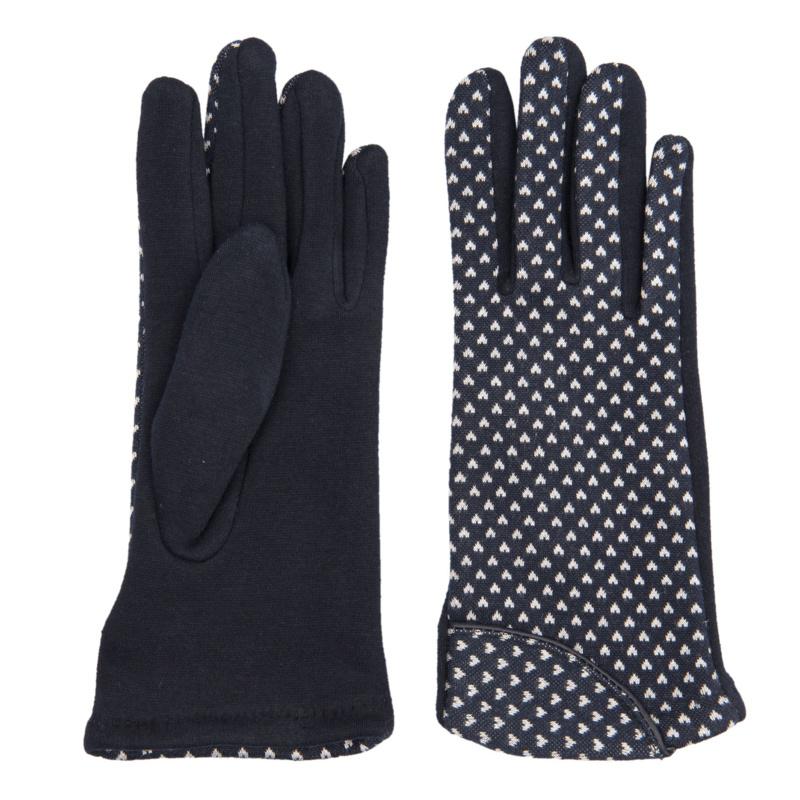 Juleeze Handschoenen Cute Hearts Donkerblauw
