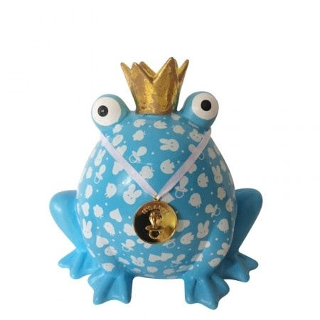 Pomme-Pidou Spaarpot King Frog It's a Boy XL