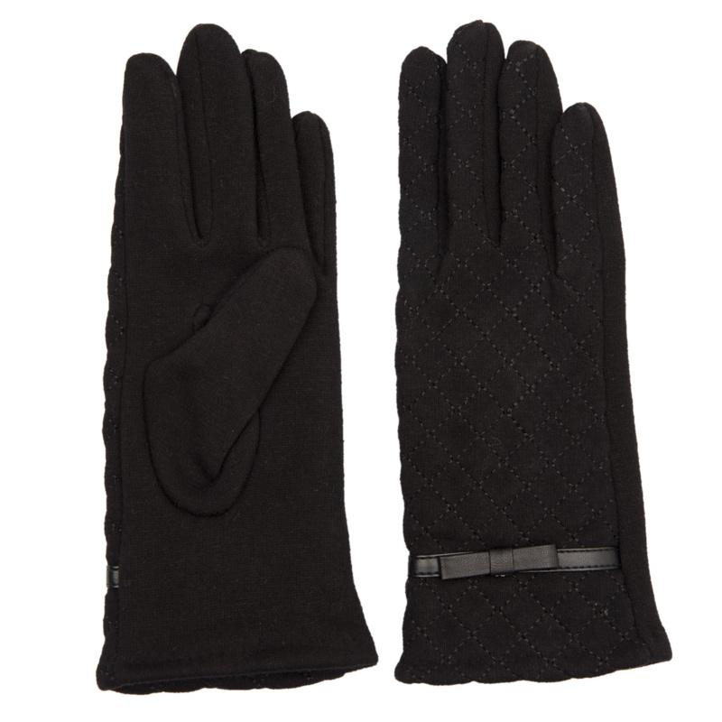 Juleeze Handschoenen Stitched Zwart