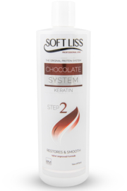 Keratine Softliss Chocolate Step 2 (16oz)