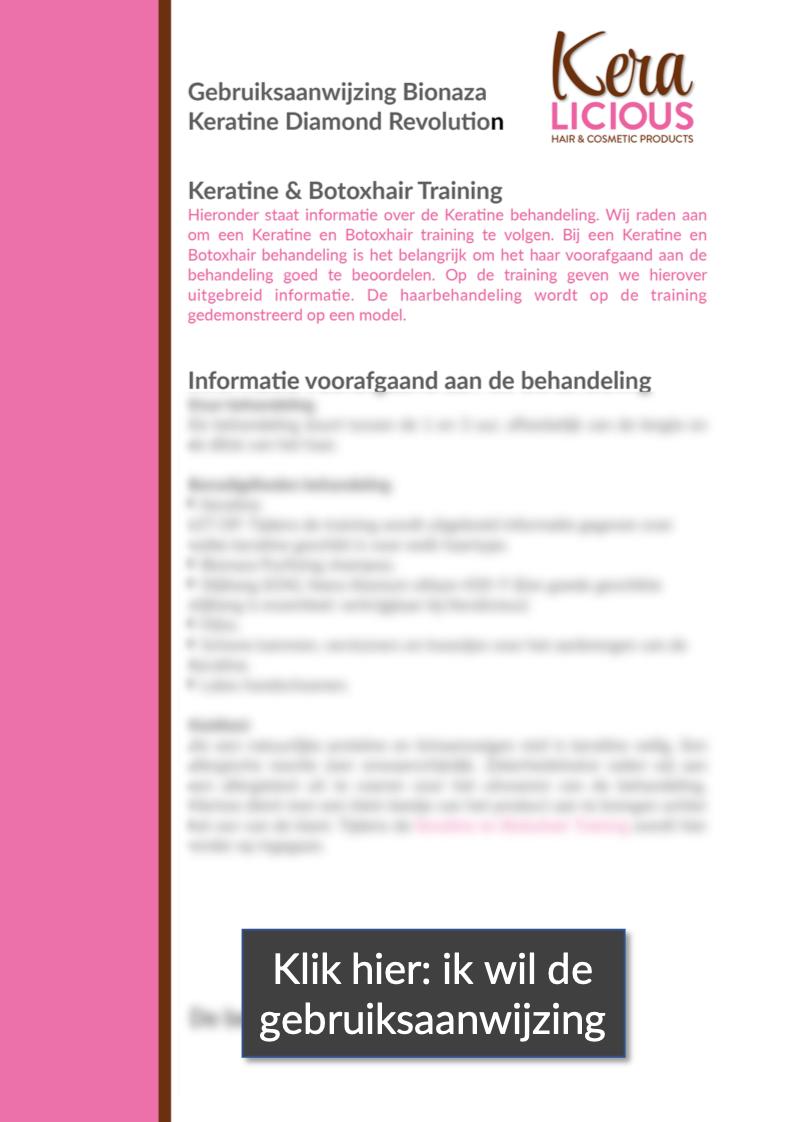 keralicious bionaza keratine
