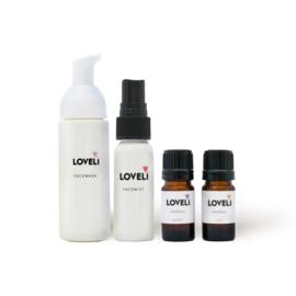 Travel set Facewash, Facemist, Face Oil Day & Night