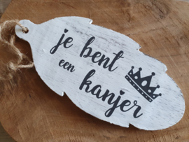 """Hanger  """"kanjer"""""""