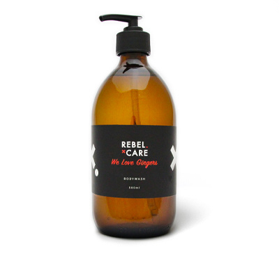 Body wash Rebel Care Refill - voor hem
