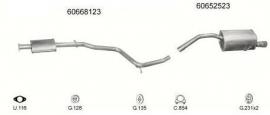 Complete Uitlaat Alfa 156 1.6/1.8/2.0 06-2000 tot 12-2006 (52)