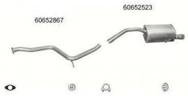 Complete Uitlaat Alfa 156 1.6/1.8/2.0 09-1997 tot 06-2000 (51)