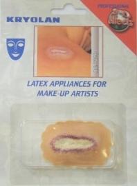 Latex brandplek