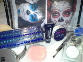 Sugar Skull make-up set
