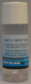 Mastix spirit gum remover