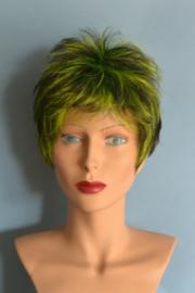 Bella kort groen/zwart