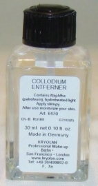 Rigid Collodium remover
