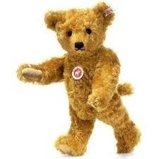 Steiff Teddybeer met halsmechanic. EAN 038242