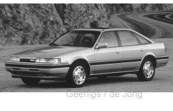 Mazda 626 1990 1:43 WHI231