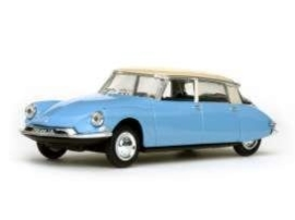Citroën DS19 1956 Blue 1:43 Vit23505