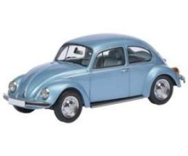 VW Beetle metallic blue 1:87 Sch26224