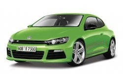 BB18-21060G VW Scirocco R Groen.  1:24