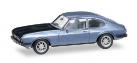 Ford Capri RS, blauw/zwart met. 1:87 H38508