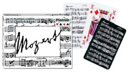 PIA222849 Mozart Speelkaarten-Double Deck