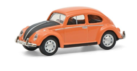 S26628 VW kever, oranje/zwart 1:87