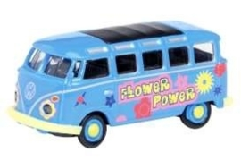 VW T1 Samba bus Flower Power.   1:87 Sch26055