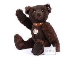Steiff Teddybeer. EAN 038266