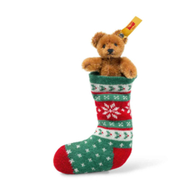 Steiff Mini Bear in sock. EAN 026775