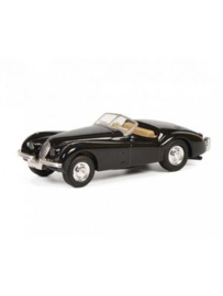 Jaguar XK 120, zwart (Sch26516)