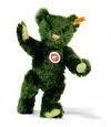 005480 Bear dark green. 26cm