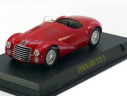 Ferrari 125 S rood