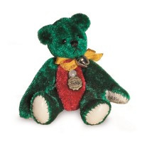 NEW! 15444 Teddy Green/red.