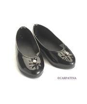 CD0008 Black Patent Shoes
