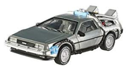 Back to the Future one 1:43 HotBLY16