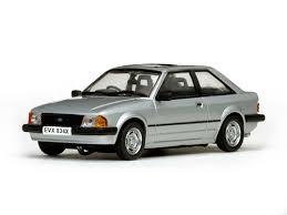 Ford Escort MK3 GL 1981  1:43 Vit24834R