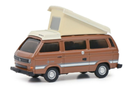 S26606 VW T3B Camper, bruin 1:87
