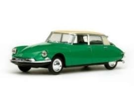 Citroën DS19  green with creme roof. 1:43 Vit23506
