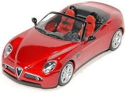 Alfa Romeo 8C Spider (AR7105)