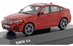 BMW X4 (F26) 2015 rood. 1:43 H2348789