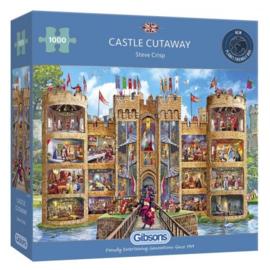 Castle Cutaway (1000) G6289