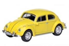 VW Beetle, yellow.   1:87 Sch26047