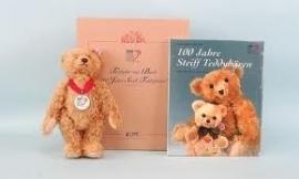 Steiff 100 jaar Steiff + boek EAN 038891