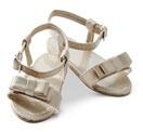 CD0022N Ivory Sandals