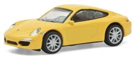 S26599 Porsche 911 (991), geel  1:87